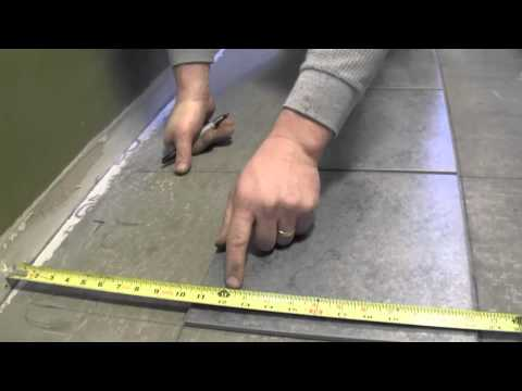 How to Measure for Tile Cuts- An Easy Method