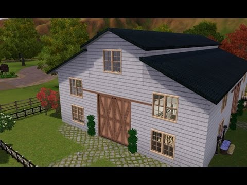 Sims 3 Stable: Andalusian Equestrian Centre