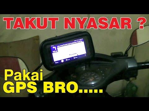 GPS / Smartphone Holder untuk Sepeda Motor