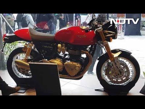 Triumph Launches India's 15th Dealership In Gurugram