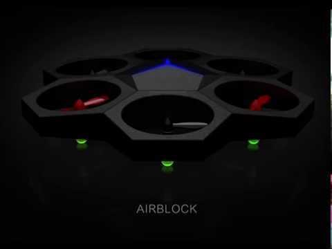 Airblock - The Easiest Programmable And Convertible Drone