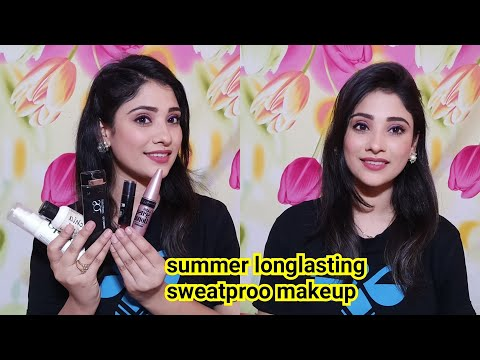 Summer longlasting sweatproof makeup || tips for oily skin || shystyles