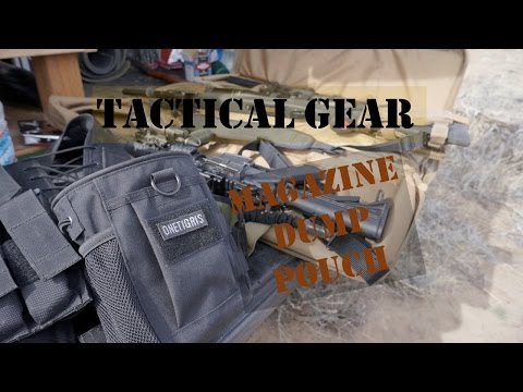 Tactical Gear, Magazine Dump Pouch by OneTigris