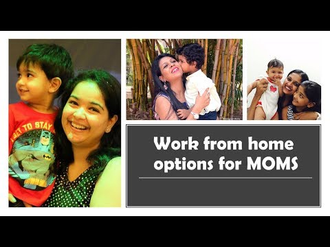 Work From Home Options For Moms
