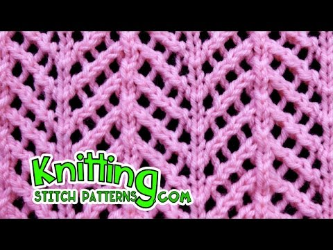 Arrowhead | Lace Knitting #22