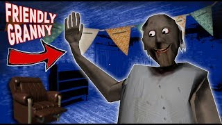 Download Friendly Granny HELPS US DANCE ON HER STUFF!!! | Granny The Mobile Horror Game (Messing Around) Video