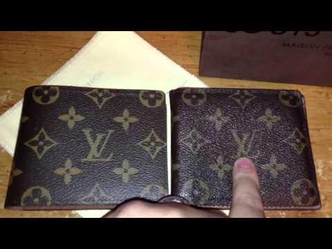 Louis Vuitton Real vs Fake men's wallet