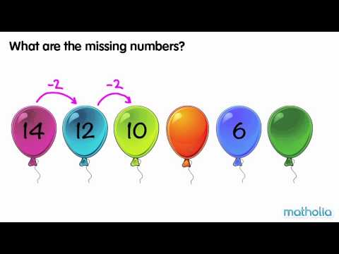 Number Patterns - Identifying Missing Numbers