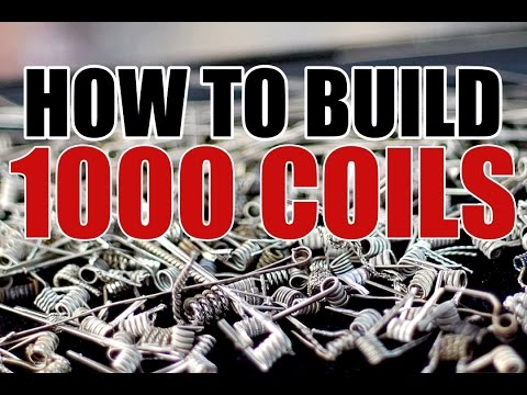BUILD VLOG - HOW TO BUILD 1000 COILS - PART 1