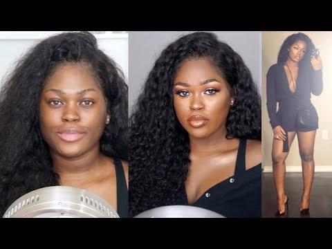 Date Night Watch Me Transform With Fenty Beauty(Talk thru) + Uamazinghair