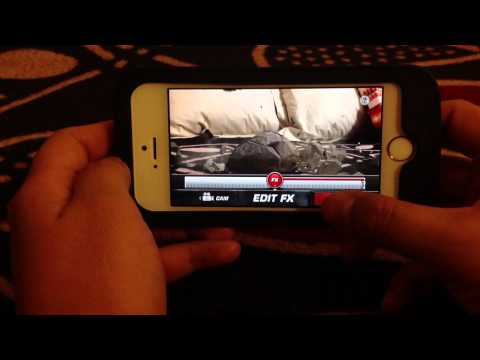 How to add an Action Movie FX clip into iMovie