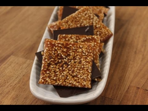 Salted Caramel and Dark Chocolate Gajak | Sanjeev Kapoor Khazana