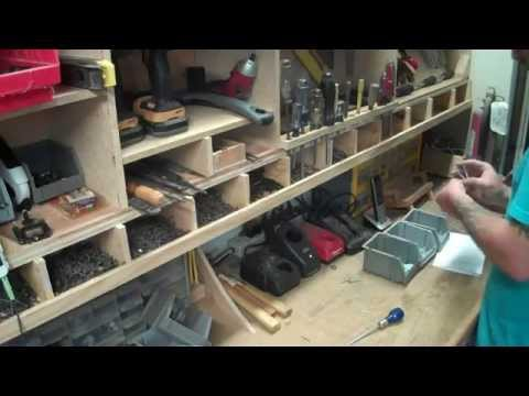 tool cabinet from scraps