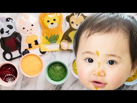 6 Easy BABY FOOD Recipes 👶
