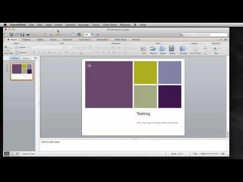 Win and Mac PowerPoint Widescreen 16X9 Design and Conversion