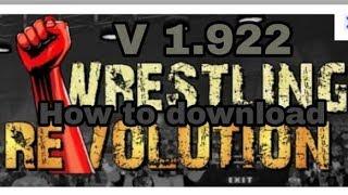 Wr2d Mod || Wrestling Revolution || Wwe 2k19 Mod || Download Now