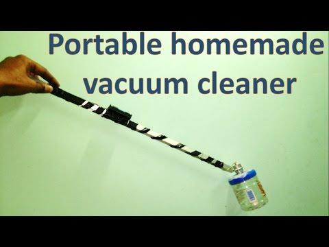 How to make a small vacuum cleaner at home