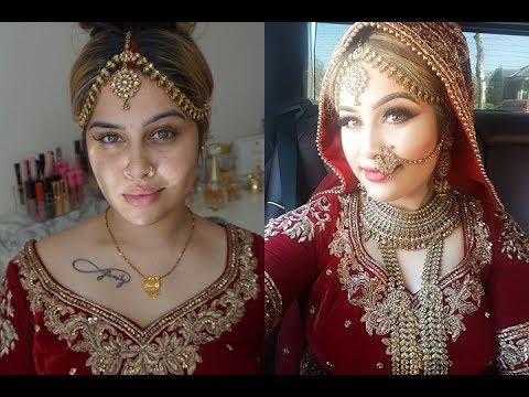 Wedding Makeup - Indian Bridal   Meenal Garib