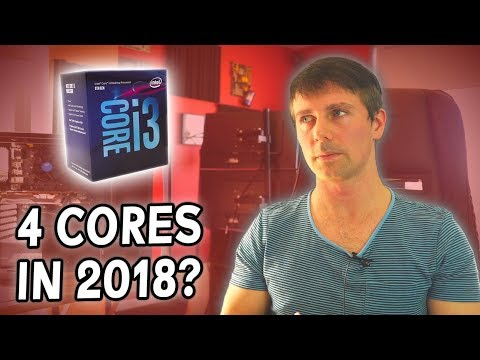 Is 4 Cores ALL You NEED in 2018?!  i3-8100 Vs. i7-8700K W/ GTX 1060 3GB