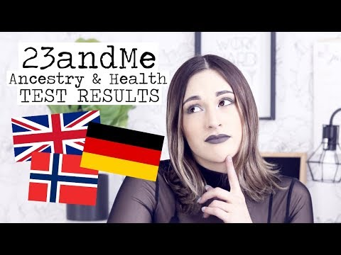 MY ANCESTRY & HEALTH RISKS? || 23andMe DNA Test Results!