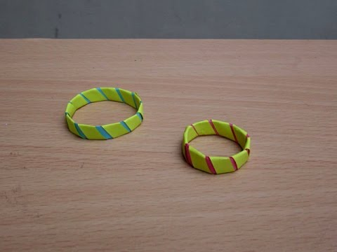 How to Make a Paper Fancy Ring - Easy Tutorials