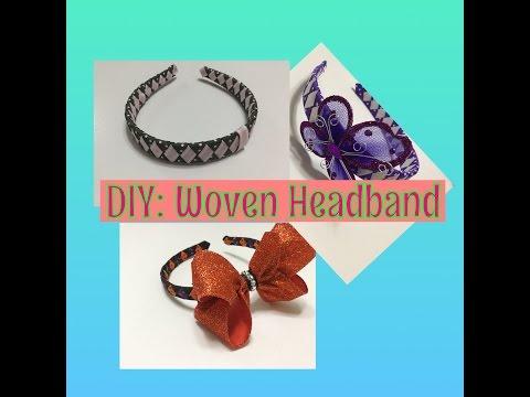 DIY Hand Woven Headband