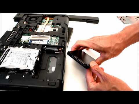 Upgrade hard drive of a HP Probook 6465b, 6475b, 6560b with a SSD (replace 642774-001)
