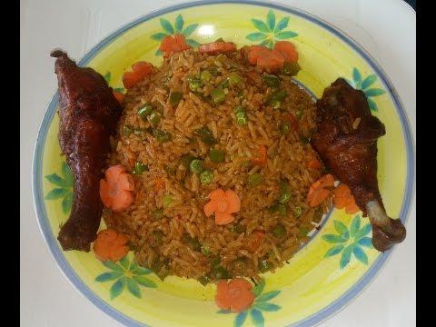 Jollof Rice Recipe: How to make Nigerian jollof rice with vegetables