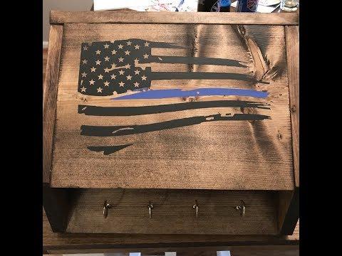 Wooden Concealment Box
