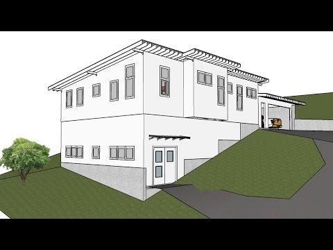 Building a Modern Home - Vlog #4 - Pouring Concrete Foundation Walls