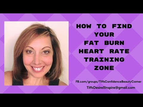 How to calculate your fat burning heart rate zone
