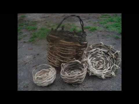 How to make a Kudzu vine basket part1