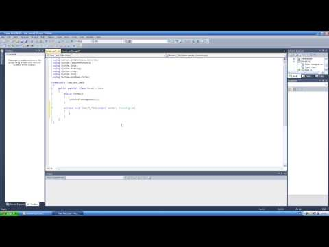 How To Make Date And Time Program In Visual C# 2010