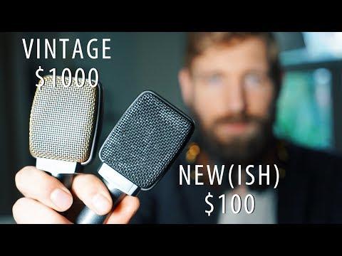 $1000 Rare & Vintage Mic VS $100 New Mic
