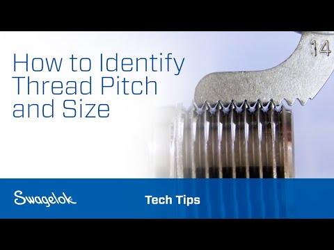 Identifying Thread Pitch & Size