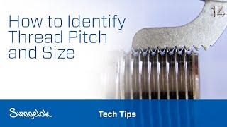 Identifying Thread Pitch Size