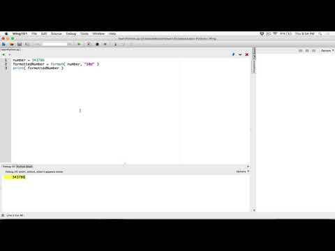 43. Formatting integers - Learn Python