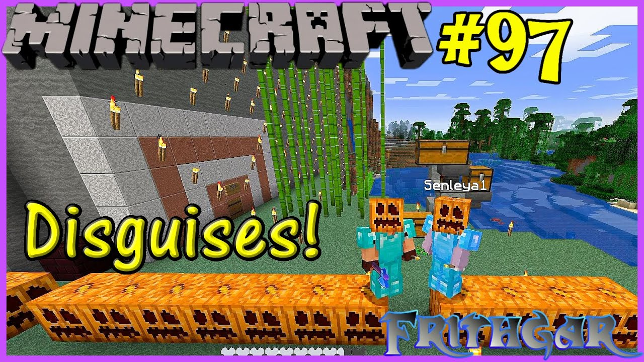 Let's Play Minecraft #97: New Disguises!