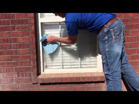 How to remove hard water stains from your windows?