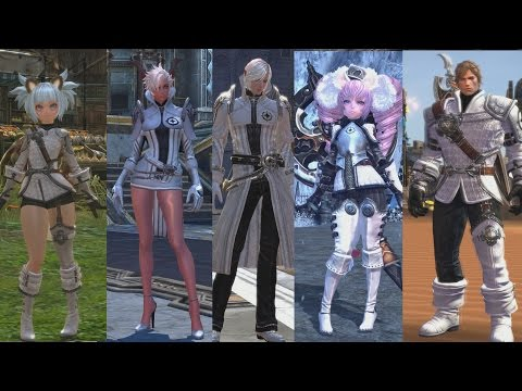 Tera Russia- exclusive armor (fashion coupons)