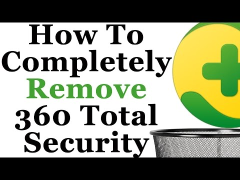 How To Completely Remove 360 Total Security From Windows 7 and 8