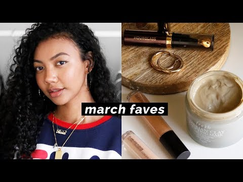 MARCH FAVORITES 2018 + GIVEAWAY | Asia Jackson