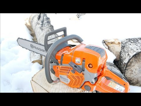 Husqvarna's NEW 572 XP Chainsaw - Review
