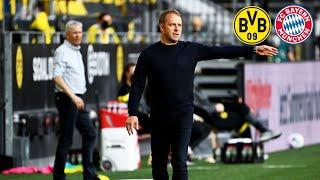 """""""Kimmichs Entwicklung ist hervorragend!"""" - Pressekonferenz mit Flick   Borussia Dortmund - FC Bayern"""