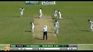 Sri Lanka v Pakistan - 2nd Test , Day One: Highlights