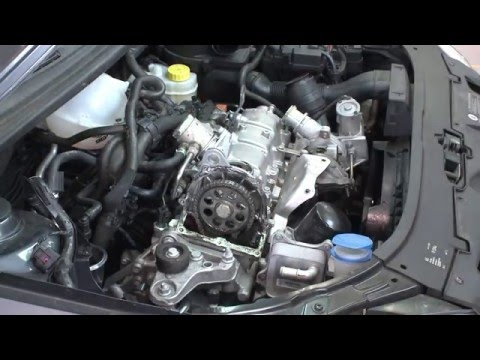 1,2TSi   Changeover of timing chain on BW