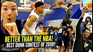 BETTER THAN THE NBA!! CRAZIEST Dunk Contest of 2019 at Sierra Canyon!! WHO ARE THEY!?