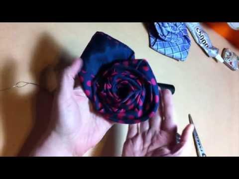 Tie Rose Tutorial by Ena Green Designs