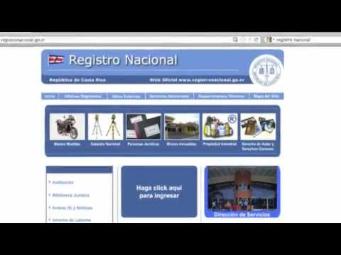 Costa Rica Property Title Report How to Get it Online