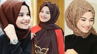 New Hijab Tutorial 2018 The Best Hijab Style Tutorial Compilation July 2018 Part 129